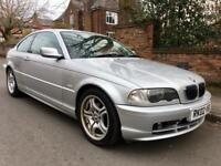 2002 BMW 320CI Auto Low Miles. 3 Series Coupe Full Sevices History.