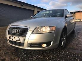 2007 A6 2.0 Diesel SILVER**SATNAV**CRUISE CONT*6 DISC CD CHANGER** 156k MILES** VERY GOOD CONDITION*