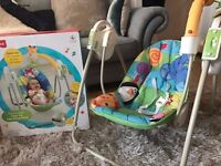 Fisher Price Discover & Grow Activity Baby Swing Chair