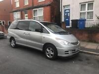 Toyota Previa 1.9 Diesel Manual 7 seater MPV for sale very good condition