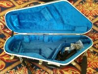 Tenor saxophone Hiscox hard case