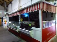 CAERPHILLY - INDOOR MARKET STALLS - TRADING SPACE - UNIT - TO RENT - LET - LEASE