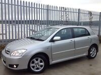 TOYOTA COROLLA 1.4 VVT-I COLOUR COLLECTION 5 DOORS HATCH BACK MANUAL SILVER