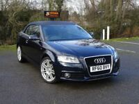 Audi A3 Cabriolet 2.0 TDI S Line S Tronic 2dr AUTOMATIC + AUDI HISTORY