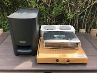 Bose 321 GSX Series II 2.1 Powered Speaker System & DVD Player - Practically new