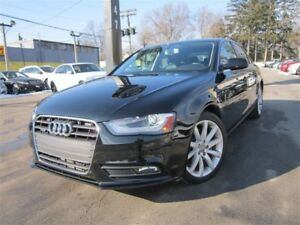 2014 Audi A4 2.0T ~ 6 SPEED ~ 92KMS ~ QUATTRO ~ SUNROOF !!!