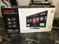 40 inch LED Full HD TV Toshiba