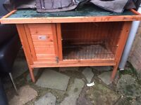 Guinea pig hutch by bunny business