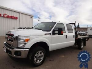 2016 Ford Super Duty F-350 SRW XLT 8 Ft Flat Deck Truck, 6.2L V8