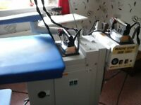 Complete Ironing System used for Business Purposes. Owner now retired