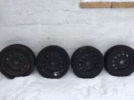 """16"""" Good Year Ultragrip 7 Winter tires ready to fit"""