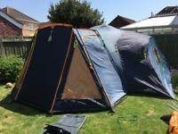 8 berth tent and camping equipment