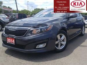 2014 Kia Optima LX | Sunroof | Cruise | Power & Heated Seat