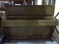 Upright Challen Piano - Art Deco design