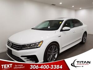 2017 Volkswagen Passat Highline|R-Line|Turbo|Leather|Sunroof|Fen