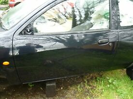 nearside door for ford ka 2 door model .