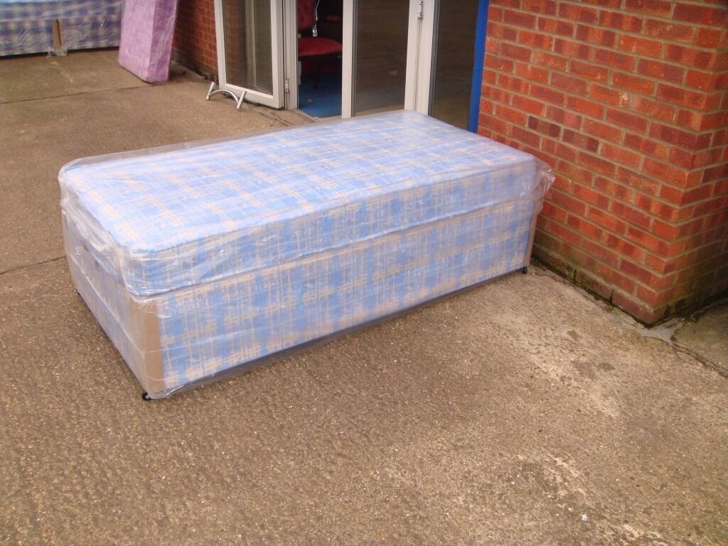 ***NEW SINGLE BUDGET DIVAN BED ONLY £65***
