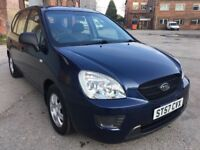 2008 KIA CARENS 2.0 S5, PETROL, MANUAL, MPV, NEW SHAPE, ONLY 80K, EXTRA SET OF TYRES, DRIVES WELL !!
