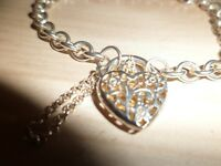 silver bracelet 925.