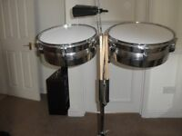 Tiger timbale drums