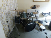 Tama Swingstar drum kit- Extensive kit! Collection only