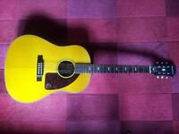 Epiphone Texan Electro Acoustic Guitar inspired by 1964. Gibson Fender Taylor Guild Martin Yamaha