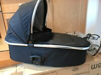 Oyster max 2 double pushchair with carrycot