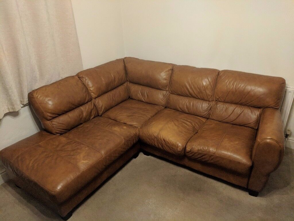 Genuine Leather 3 piece sofa suite