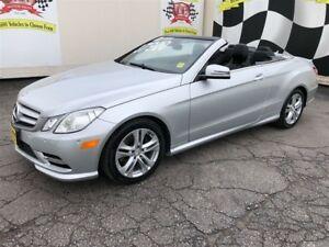 2013 Mercedes-Benz E-Class 350, Navigation, Leather Convertible,