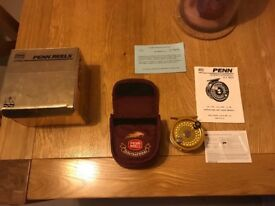 Penn International Fly Fishing Reel 1.5G Gold anodised.