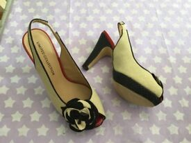 Ladies shoes ideal for a wedding
