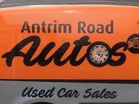 ANTRIM ROAD AUTOS USED CARS SALES ** FINANCE OPTIONS **