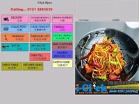 EPOS Pos Till Software for Takeaway Restaurant Delivery Fast Food Chip Shop Dessert Coffee Caller Id
