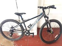 Carrera mountain bike used a few times sits about due to work
