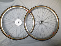 Hand Built Bicycle Wheels by Al at Wheelcraft 26'