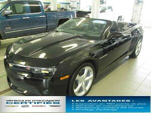 2015 CHEVROLET CAMARO CONVERTIBLE LT BLUETOOTH,V6 3,6L,323 CH.