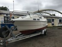 Sealine S218 22' Cabin Cruiser Discounted to Sell