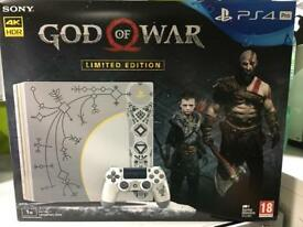 BRAND NEW God of war PS4 pro