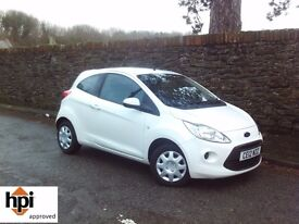 2012 12 Ford Ka 1.2 Edge - Only 25000 Miles with Full Service History - Group 1 Insurance
