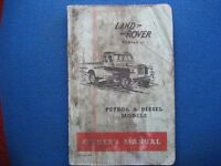 Land Rover Series II owners manual.