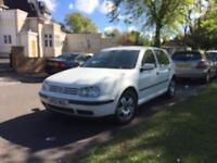 Volkswagen Golf 1.9 tdi 2003 - spares or repairs - no logbook and back has damage - not Opel ford