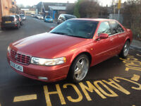 Cadillac Seville STS With A 4.6 v8 32v Northstar Engine Low Mileage 87K New Mot £1200