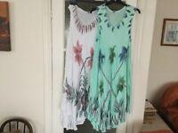 2 Beautiful Loose summer dresses 12-20