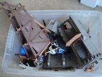Jumbo box of Playmobil £85