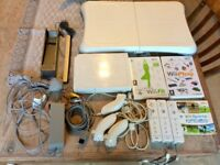 Wii fit console amd wii fit balance board.