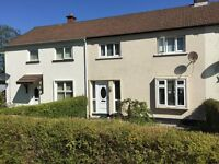 Fully Furnished Three Bedroom House to let in quiet area of Enniskillen. Close to all amenities