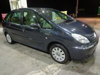 2005 top spec citroen picsasso with leathers+mot+tax DRIVEAWAY OR DELIVERY AVAILABLE