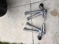 Gsxr 1000 k7/k8 rear pegs footrests