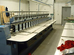 Embroidery Machine 20 Heads ( 7 colors )