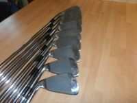 A Full Set Of BROWNING. 9 IRONS. 3 TO S/W,
